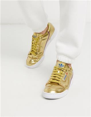 adidas Originals - Continental - Set van 80 sneakers in goud