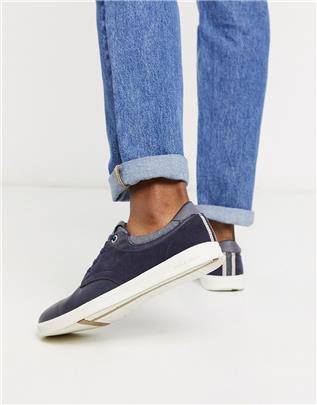 Jack & Jones - Schoenen met rubberzool in marineblauw