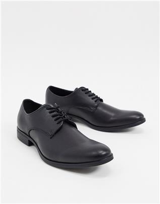 Jack & Jones - Derbyschoenen van PU in zwart