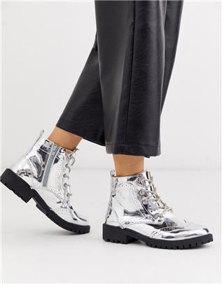 Vero Moda - Zilveren wandelschoenen