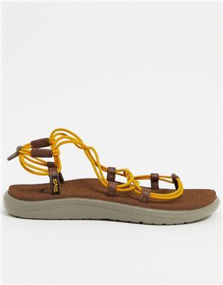 Teva - Voya Infinity - Sandalen met veters en strepen-Multi