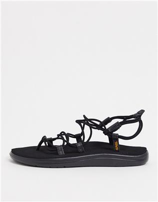 Teva - Voya Infinity - Sandalen met veters in zwart