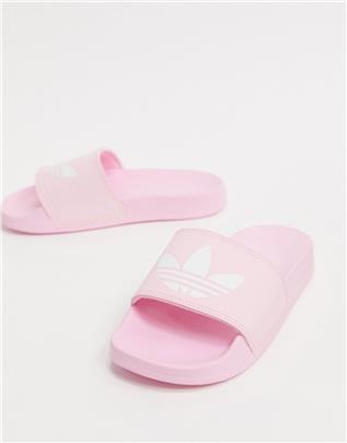 adidas Originals - Adilette Lite - Slippers in roze