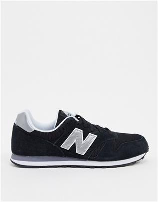 New Balance-373 - Sneakers in zwart