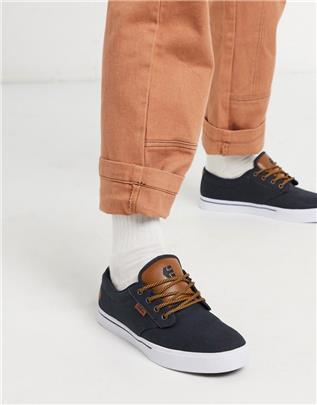 Etnies - Jameson - 2 - Eco-sneakers in marineblauw en bruin