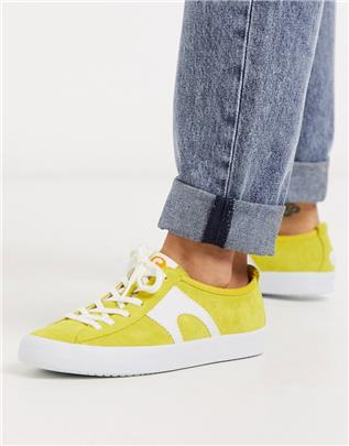Camper - Imar - Sneakers in geel suede