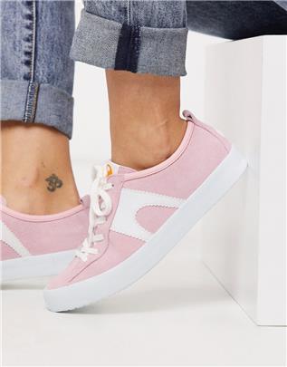 Camper - Imar - Sneakers in roze suède