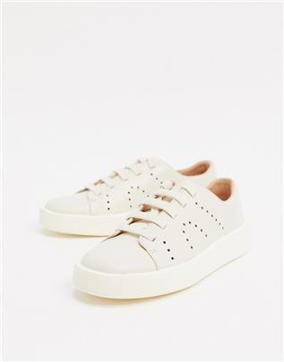 Camper - Courb - Sneakers van wit leer