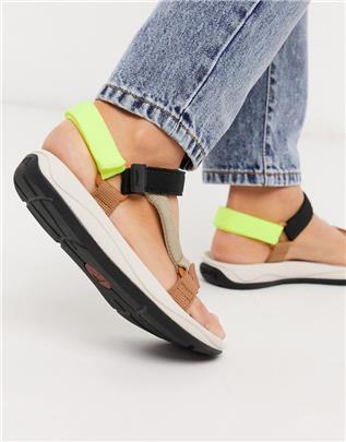 Camper - Match - Sandalen met veelkleurige bandjes-Multi