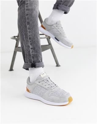 Toms - Suède sneakers in lichtgrijs