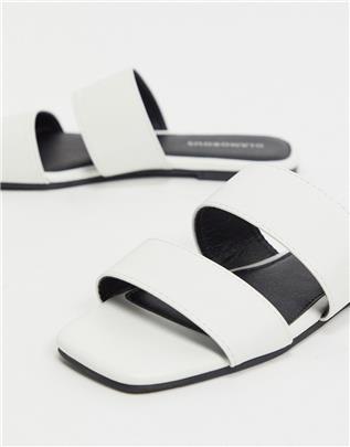 Glamourous - Platte sandalen in wit
