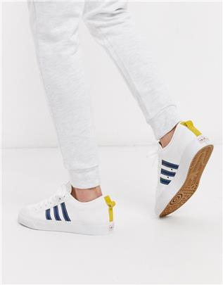 adidas Originals - Nizza - Lage sneakers in wit