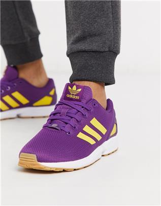 adidas Originals - ZX Flux - Sneakers in paars