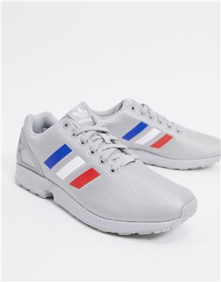 adidas Originals - ZX Flux - Sneakers in zilver