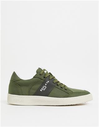 Replay - Fern - Sneakers in groen