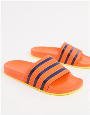 adidas Originals - Adilette - Slippers in oranje