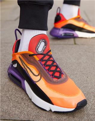 Nike - Air Max 2090 - Sneakers in orange/zwart-Oranje