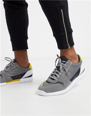 BOSS - Sonic - Sneakers in grijs