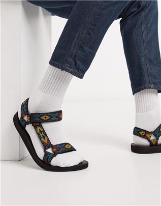 Teva - Original universal - Sandalen met meerkleurige print-Multi