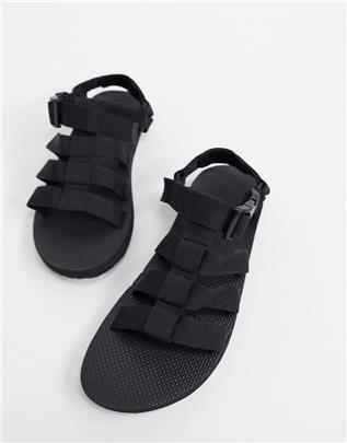 Teva - Sandalen met sluiting in zwart