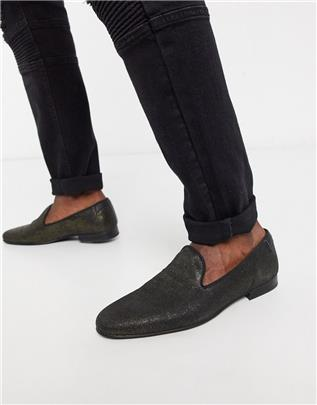 Twisted Tailor - Fancy - Loafer in distressed goud