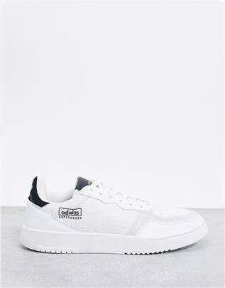 adidas Originals - Supercourt - Nylon sneakers in wit