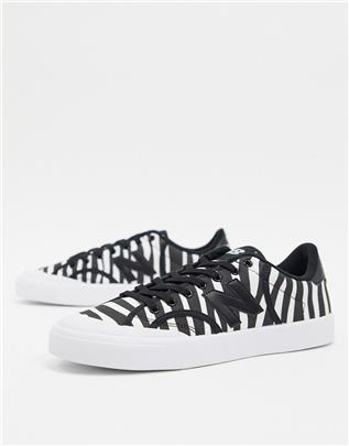 New Balance - PRO COURT - Sneakers met zebraprint-Wit