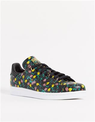 adidas Originals - Bellista Stan Smith - Sneakers in zwart-Wit