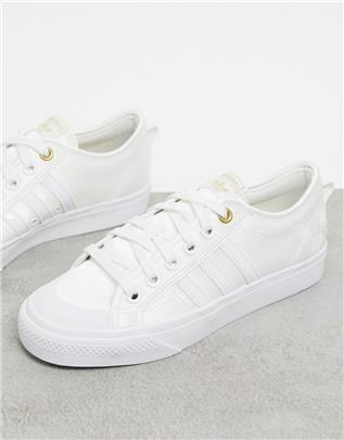 adidas Originals - Nizza - Sneakers in drie wittinten