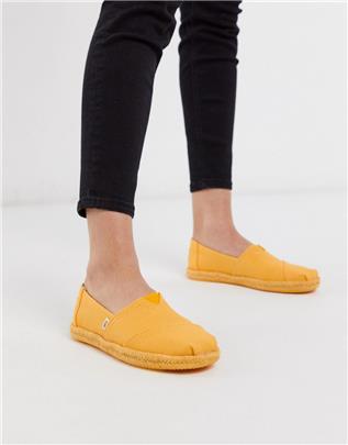 Toms - Alpargata - Espadrilles in geel
