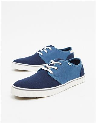 Toms - Carlo - Sneakers in marineblauw