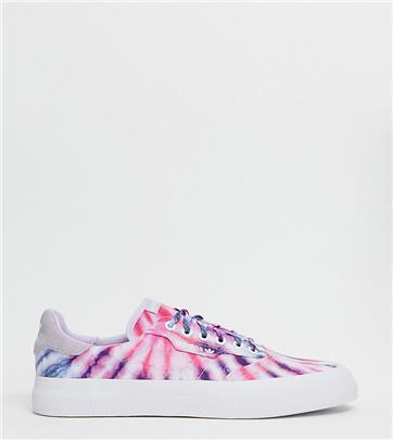 adidas Originals - 3MC - Sneakers in tie-dye - Exclusief bij ASOS-Multi