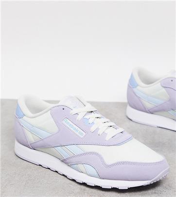 Reebok Classics - Nylon sneakers in lila, exclusief bij ASOS-Paars
