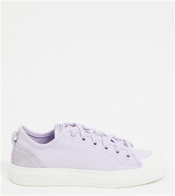 adidas Originals - Nizza - Suède sneakers in lila, exclusief bij ASOS-Paars