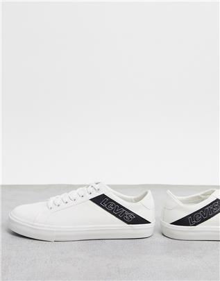 Levi's - Woodward - Sneakers in wit