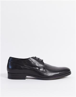 Jack and Jones - Leren schoenen-Grijs