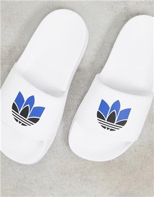 adidas Originals - Adilette Lite - Slippers in wit