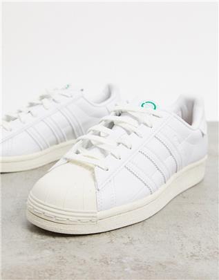 adidas Originals - Clean Classics Sustainable Superstar - Sneakers in wit