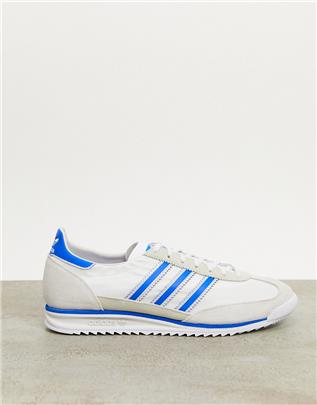 adidas Originals - SL 72 - Sneakers in wit-Grijs