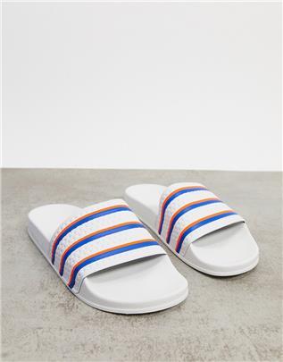 adidas Originals - Adilette - Slippers in wit