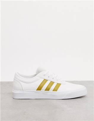 adidas Originals - Adi-Ease - Sneakers in wit-Grijs