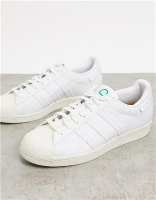 adidas Originals - Clean Classics Sustainable Superstar - Sneakers in wit