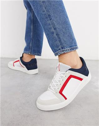 Levi's - Mullet 2.0 - Sneakers in wit