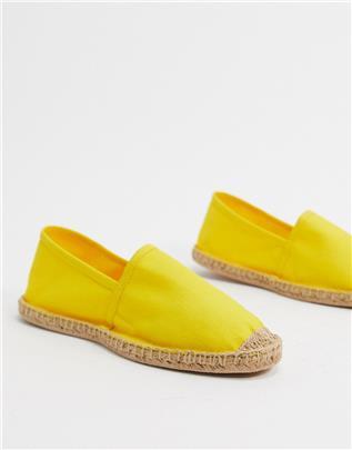 Rule London - Austin - Espadrilles in geel