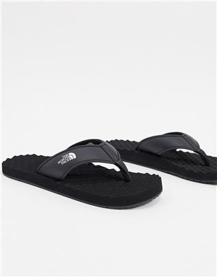 The North Face - Base Camp II - Teenslippers in zwart