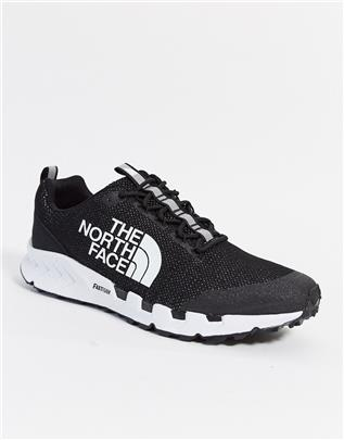 The North Face - Spreva Space - Sneakers in zwart