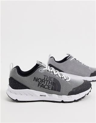 The North Face - Spreva Space - Sneakers in grijs-Wit