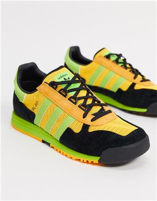 adidas Originals - SL 80 - Sneakers in goudgeel