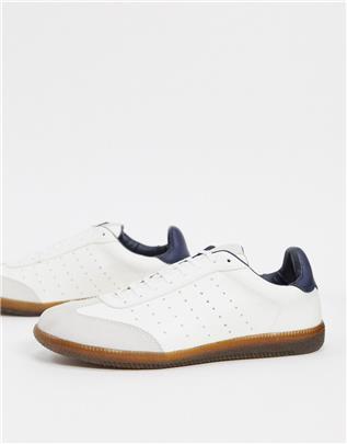 Topman - Retro sneakers in wit