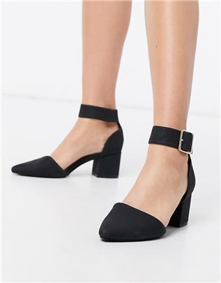 Call It Spring - Agraleria - Schoenen met halfhoge blokhak in zwart